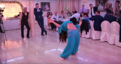 Танец живота невесты лишил дара речи жениха! Смотрите видео!